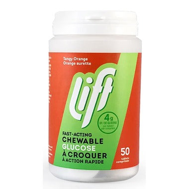 Lift Glucose Chews Tangy Orange