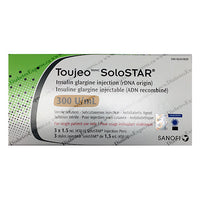 Toujeo Solostar Prefilled Pens pack of 3