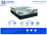 Sealy Leisure Europillowtop Firm Mattress Set