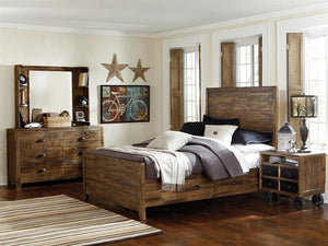 Braxton 3 Pc. Twin Panel Bed