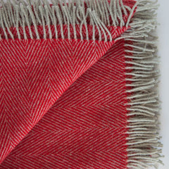 cherry_red_british_wool_throw_from_Tripster