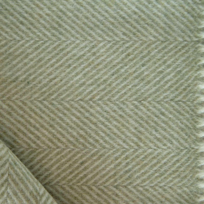 british_herringbone_green_merino_wool_throw_tripster_smith