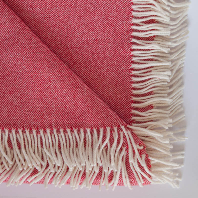 red_cream_herringbone_merino_lambswool_throw