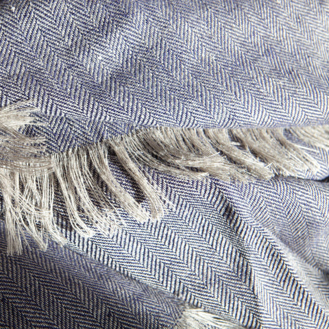 Denim-blue-linen-throw-ireland