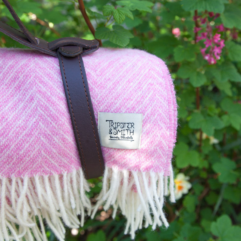 pink-picnic-blanket-leather-carrier
