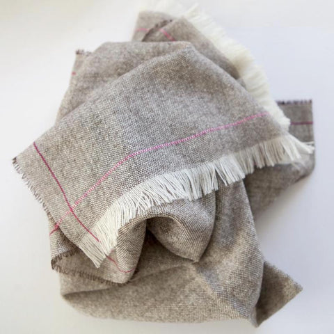 Wool Picnic Blanket (Cherry)