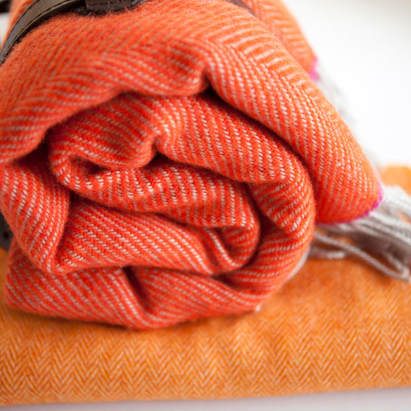 orange-wool-herringbone-tripster-picnic-rug