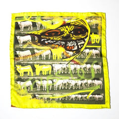 yellow-silk-hankerchief