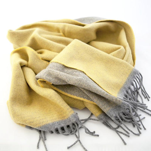 The Cashmere Scarf - Gold