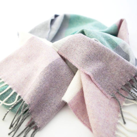 The Merino Scarf (Candyfloss)