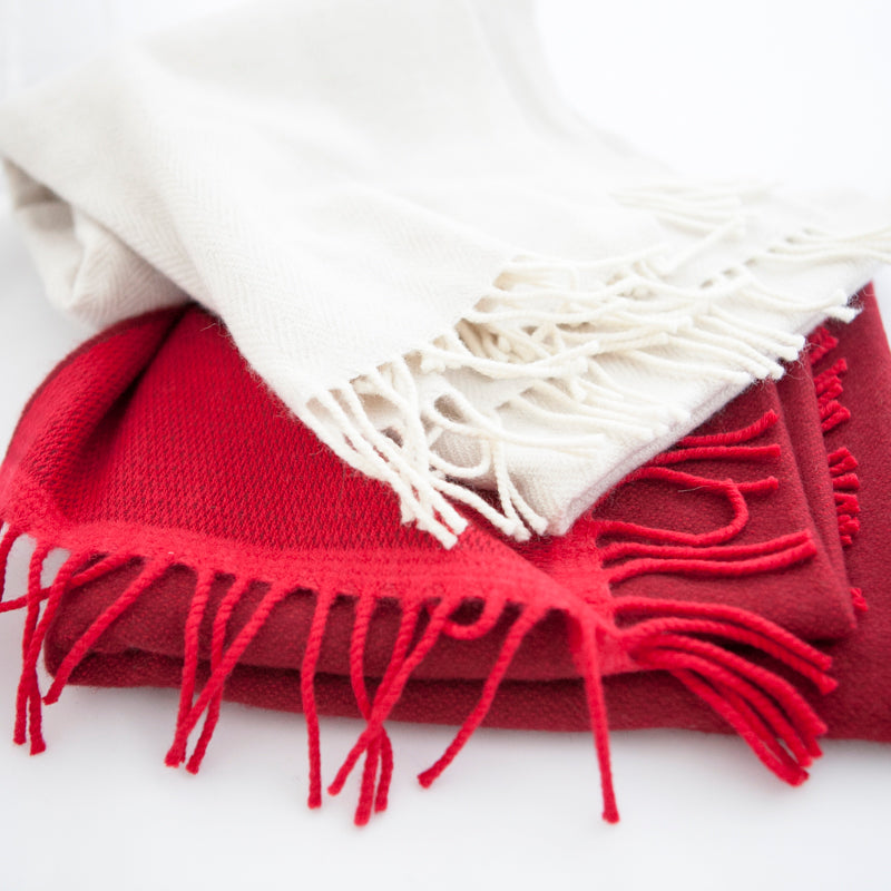 red-and-cream-cashmere-scarves