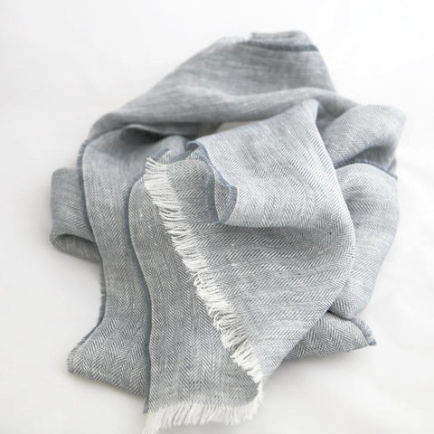 dove-grey-linen-scarf