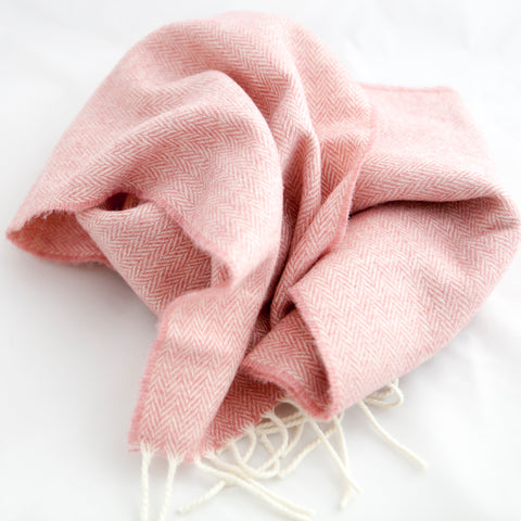 pink-herringbone-ladies-scarf