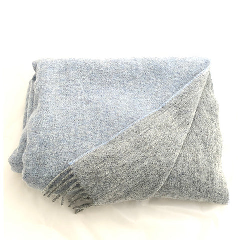 pale-blue-grey-wool-throw-blanket
