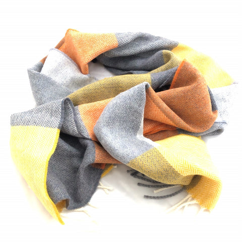 The Merino Scarf (Smoky Blue)