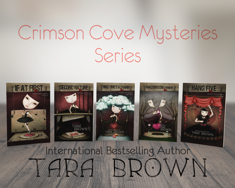 Crimson Cove Mysteries Covers