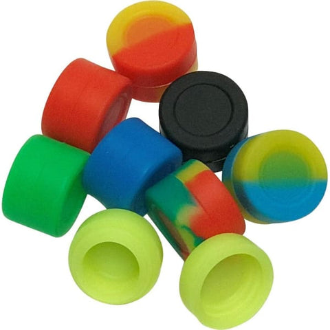10 Pack 3ml Airtight Silicone Containers for Wax/Oil - Unbranded - Accessory