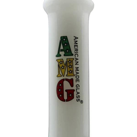 AMG Glass Zong Bong Bubbler Water Pipe - Dab Rig
