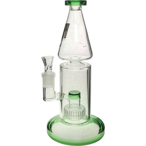 Glass Cyclone Pinhole Bong Water Pipe Matrix Percolator - Elegant