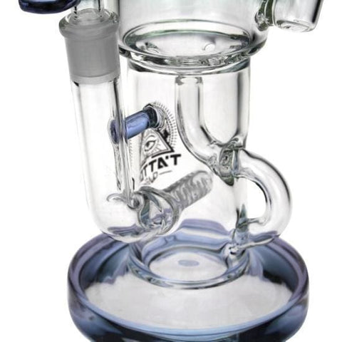 Glass Recycler Water Bong Smoking Pipe Tattoo