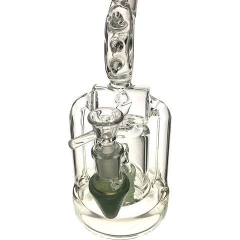 Lookah Glass Spike Themed Bong Water Pipe - Unbranded