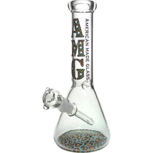 Thick Glass Beaker Bong Water Pipe by AMG