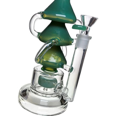 Unique Glass Bong Water Pipe Smoking Hookah by Tattoo - Gonzos Shop - Kitchen