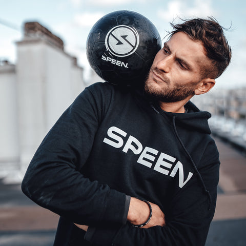 speen style brand football freestyle soccer Brian hoodie sweat