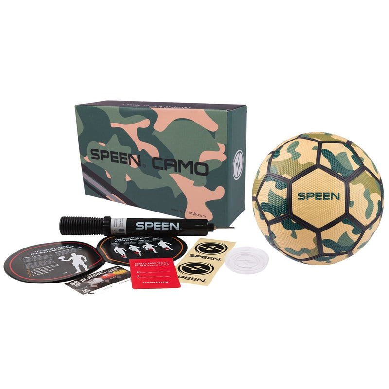 Freestyle - Ballon Camo Speen Ball - Yellow/Green