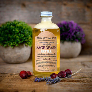 Face Wash REFILL - Rose Hip and Tamanu oils (Lavender and Geranium)