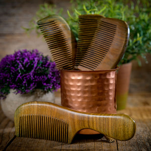 Wooden Hair Comb (Red Sandalwood)