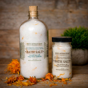 Bath Salt - Epsom Salt with Citrus essential oils