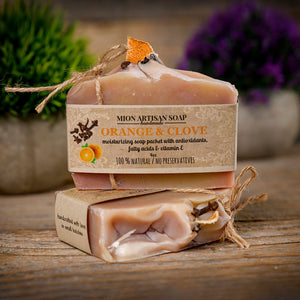 Orange & Clove Soap