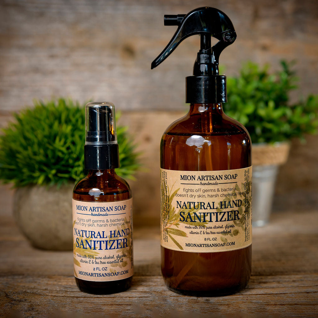Natural Hand Sanitizer - 2 oz