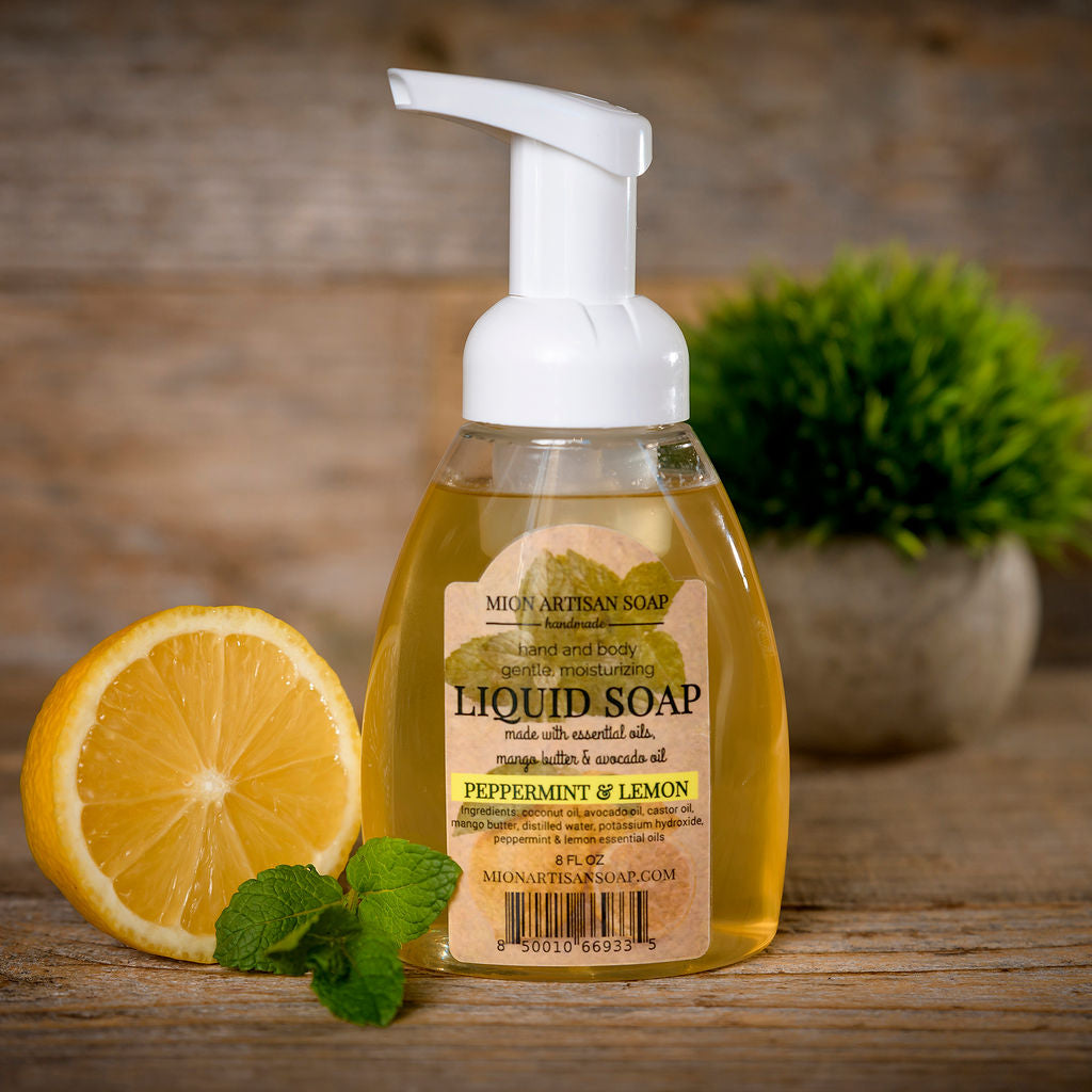 Liquid Soap (Peppermint & Lemon)