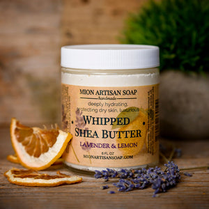 Lavender & Lemon Whipped Shea Butter