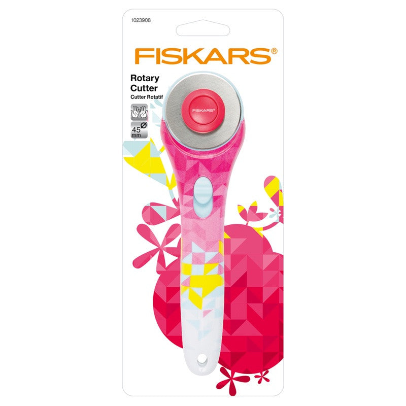 Fiskars 45mm Rotary Cutter Geometric Design