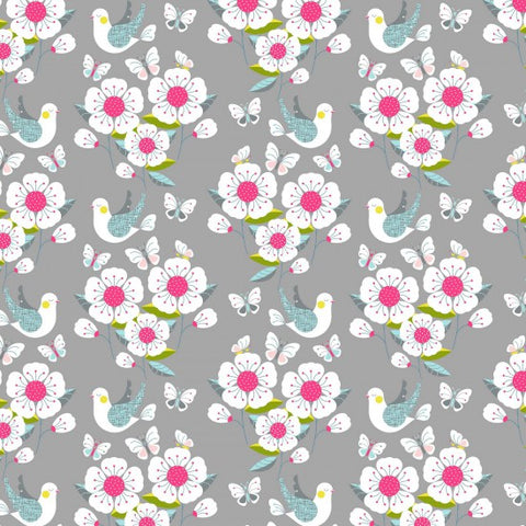 Meadow Scenic Design 100% Cotton Fabric