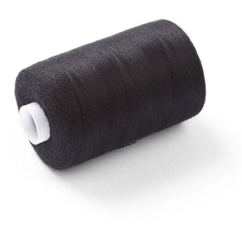 120's Spun Poly Thread Black
