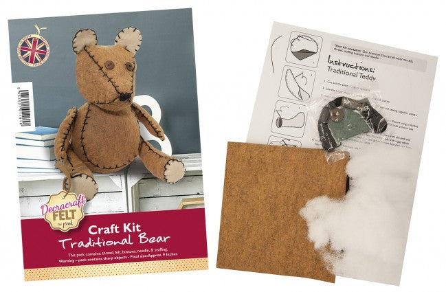 Large Bear Felt Craft Kit