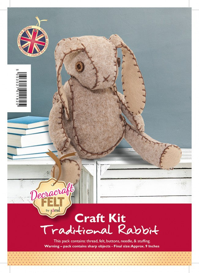 Large Rabbit Craft Felt Kit