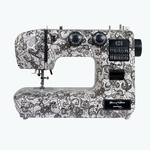 Eastman Tailor White Lace Sewing Machine