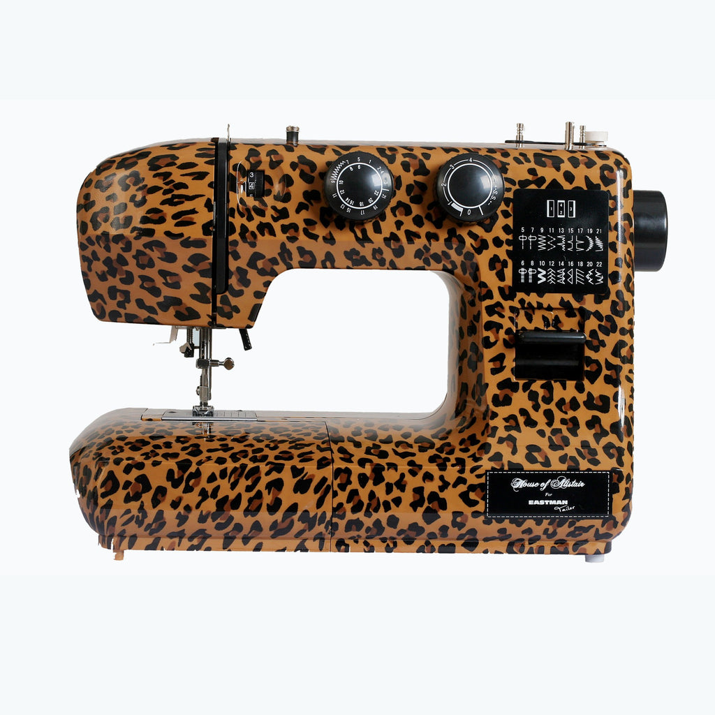 Eastman Tailor Leopard Print Sewing Machine