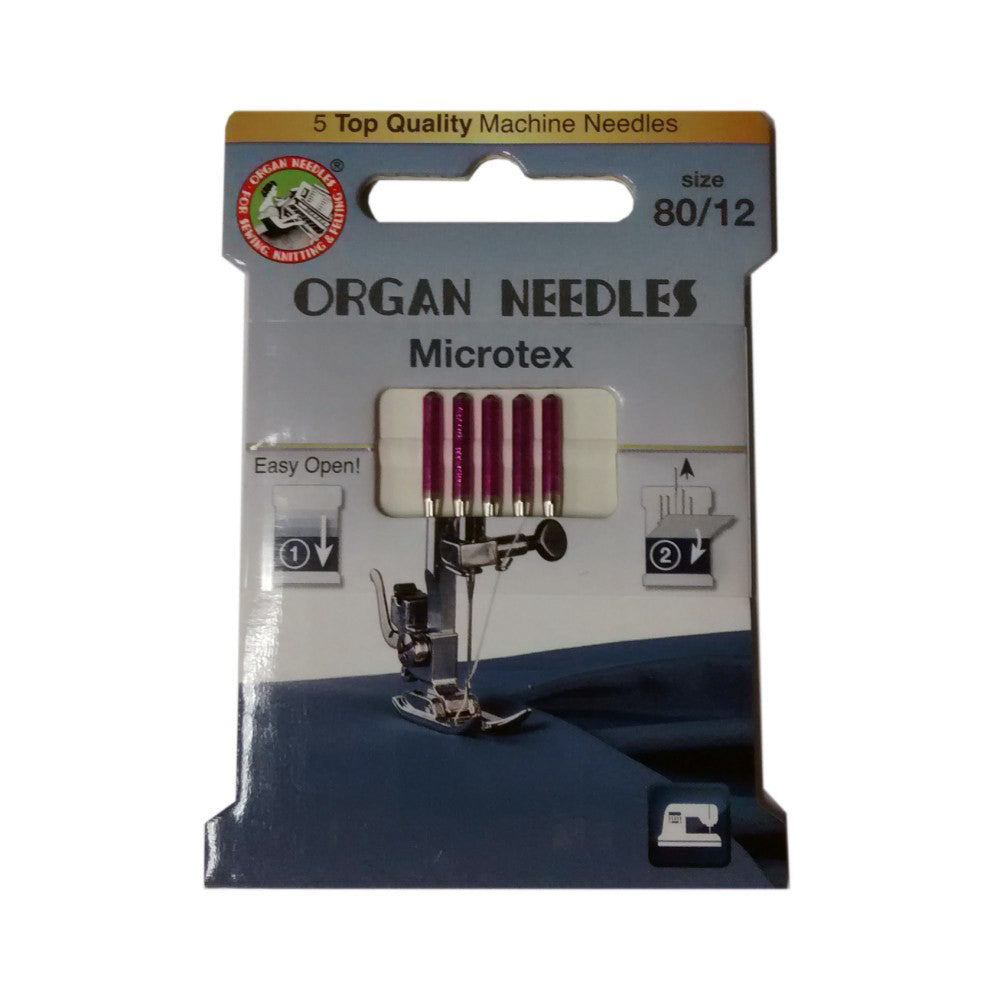 Microtex Domestic Sewing Machine Needles by Organ