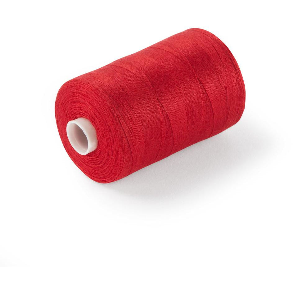 120's Spun Poly Thread Red