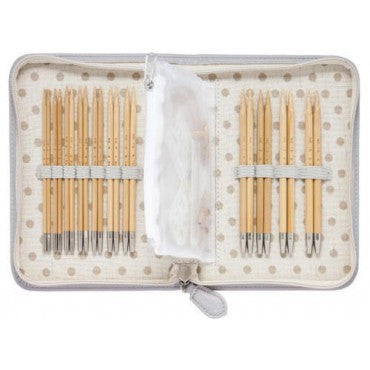 Tulip CarryC Long Interchangeable Bamboo Knitting Needle Set