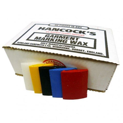 Hancocks Assorted Tailors Wax- Box Of 50