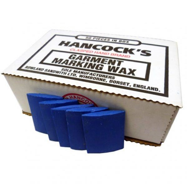 Hancocks Blue Tailors Wax- Box Of 50