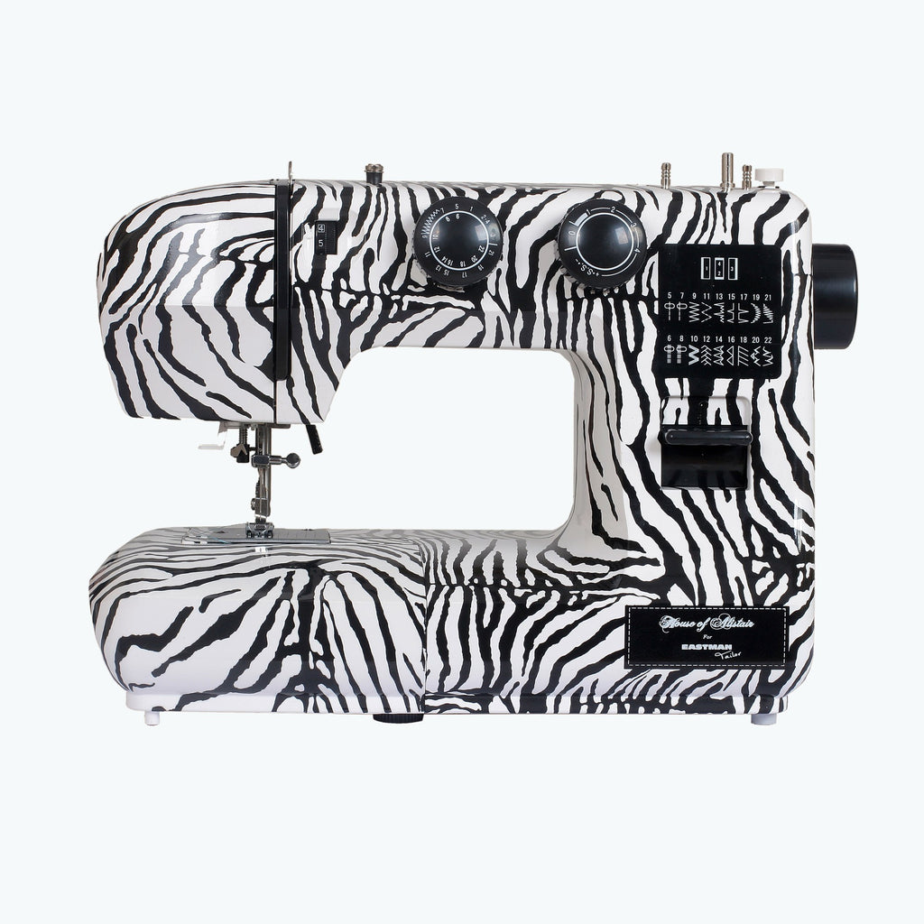 Eastman Tailor Zebra Print Sewing Machine