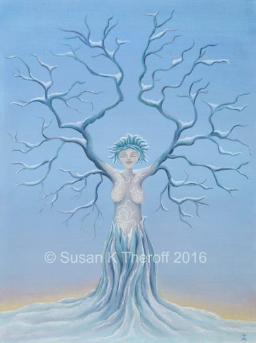 Solifera at Winter Solstice Giclee Print
